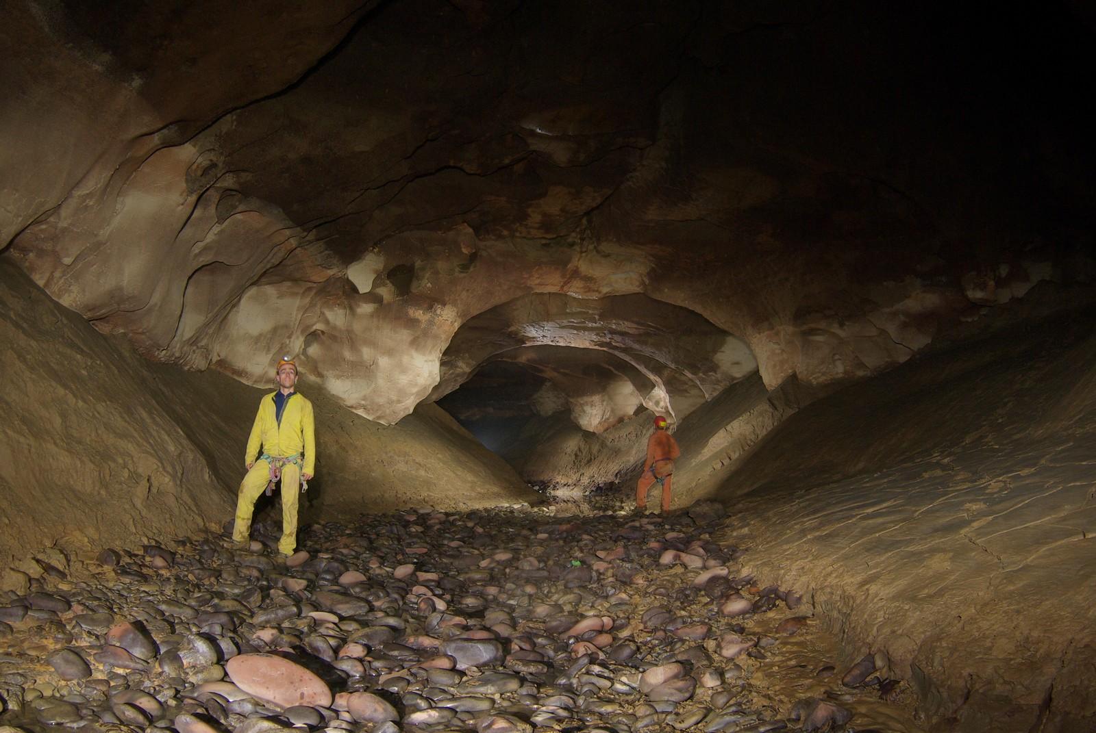 Shaowandong la principale grotta esplorata durante la spedizione (foto Marc Faverjon)